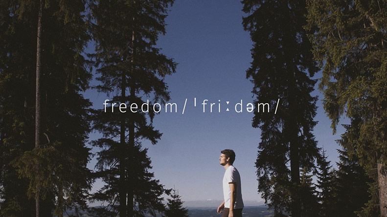 Das Thumbnail zum Imagefilm Freedom